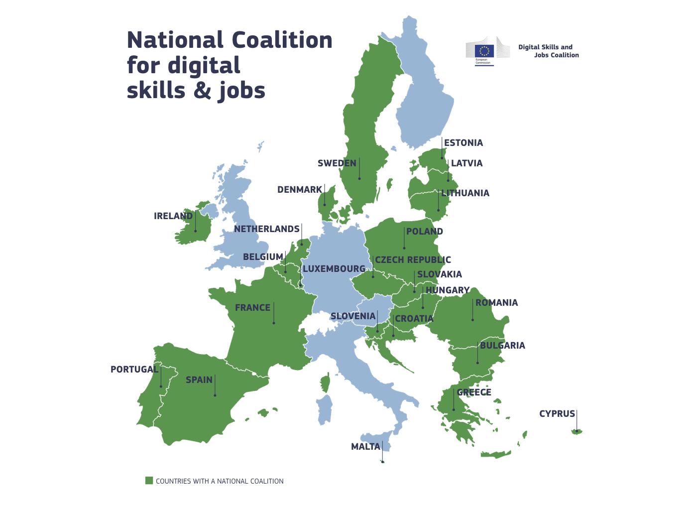 national coalition map